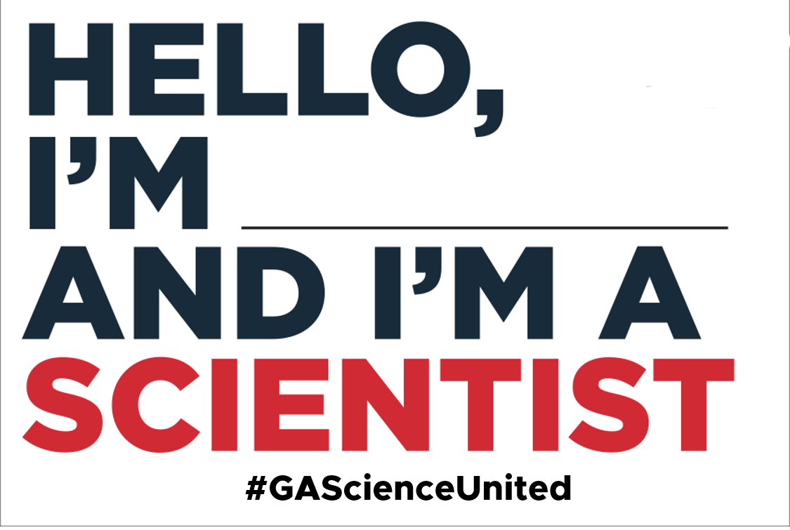 Science Post Card Template